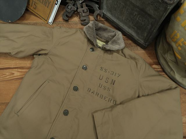 BUZZ RICKSON'S N-1 DECK JACKET [NAVY DEPARTMENT 40s MODEL] [SS-317 BERBERO] [BR14549] / バズリクソンズ N-1デッキジャケット