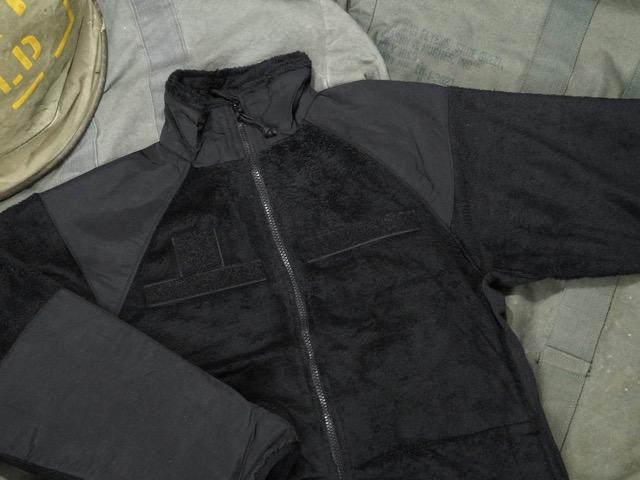 ROTHCO MILITARY ECWCS JACKET [BLACK] / ロスコ フリース ジャケット