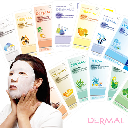 Try us! DERMAL essence mask 16 / 31 kinds