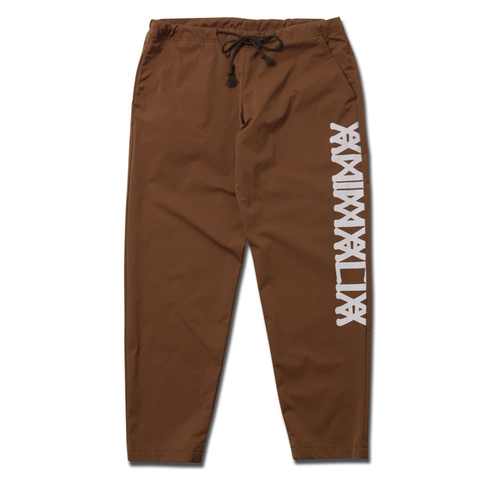 BLACK SUMMER COLLECTION】ANIMALIA アニマリア COMFY PADDING PANTS-LOGO AN20U-PT02 パンツ 【ANIMALIA 2020 COLOR:BEIGE /