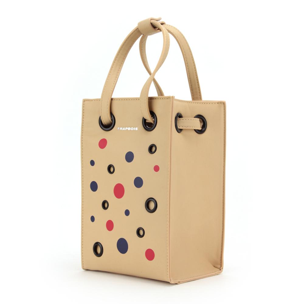 FRAPBOIS (フラボア) ドットアイレットシリーズ ショルダーバッグ FB-B055 バッグ 鞄 くま クマ 熊