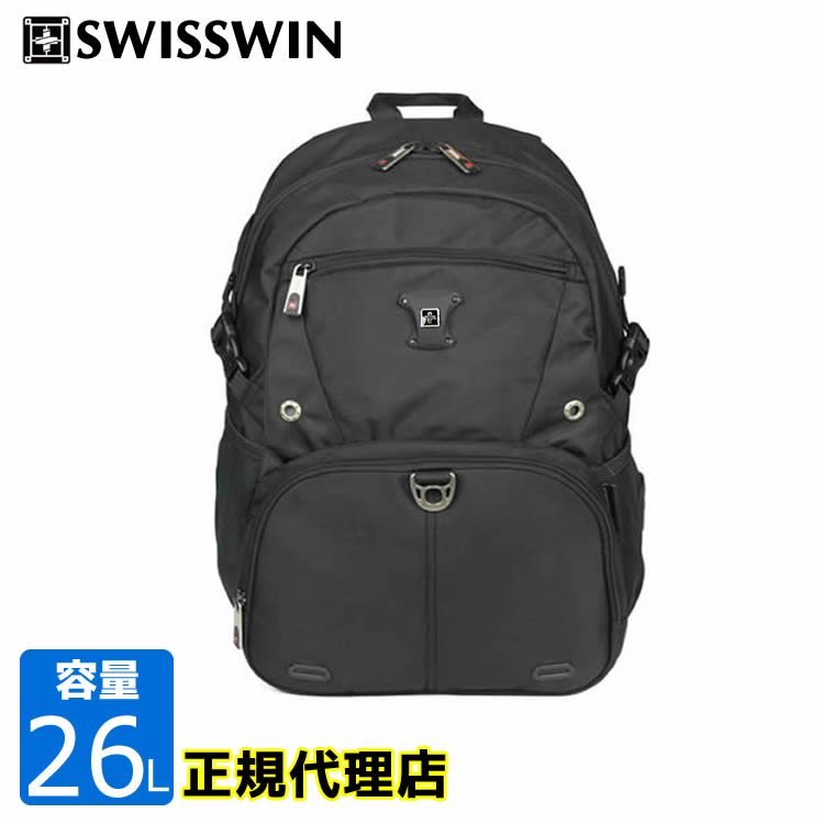 Swisswin Sw9035n Pack Back Rucksack Business Bag Men Switzerland Win Day Lady S 26l Black Man And Woman Combined Use