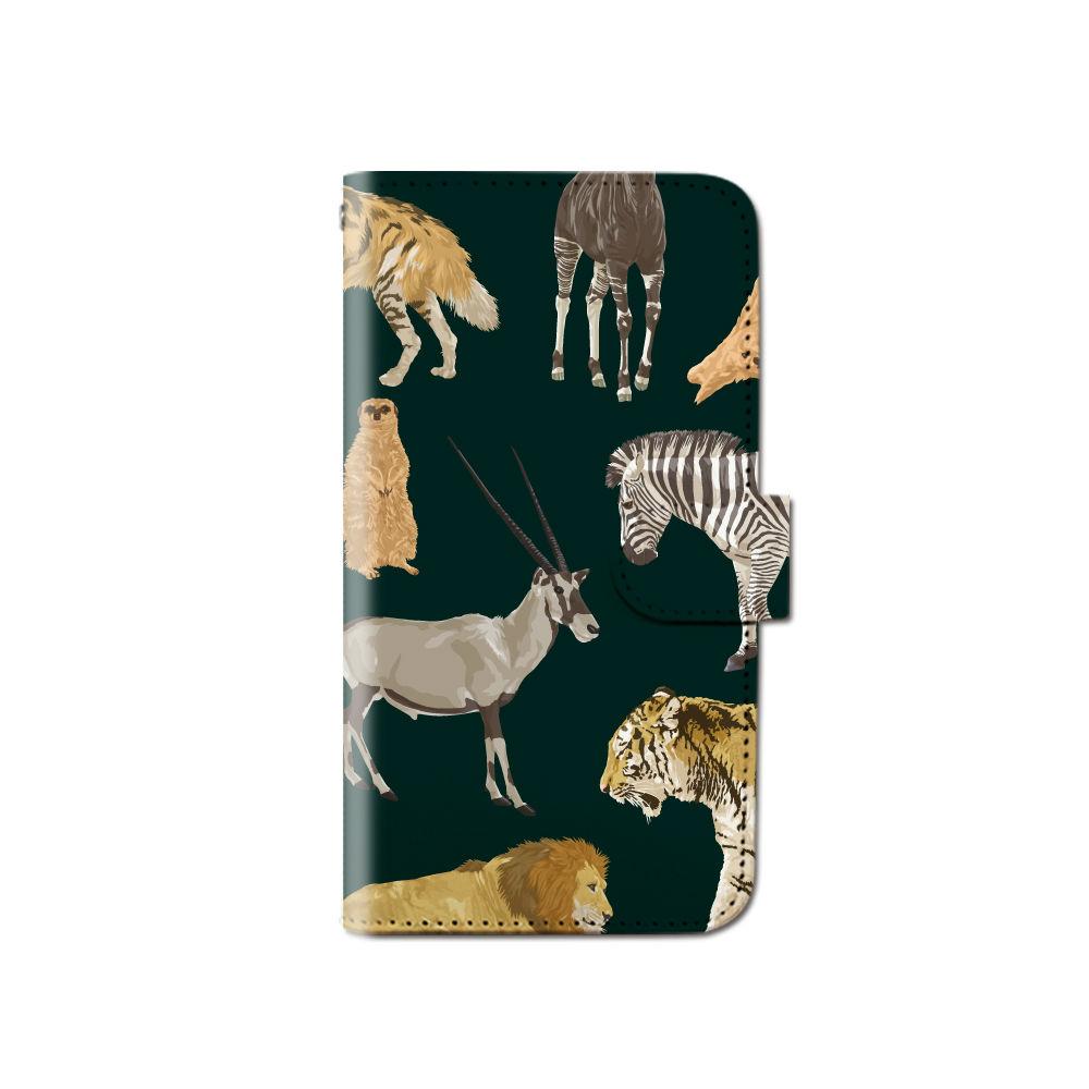 c13d5be0d9 手帳型ケースケースカバー[生き物生物]ほぼ全機種対応iPhoneSEiPhoneSEアイフォンse