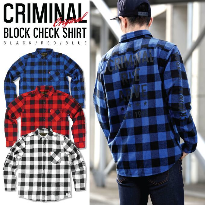 CRIMINAL | Rakuten Global Market: Criminal original long sleeve ...