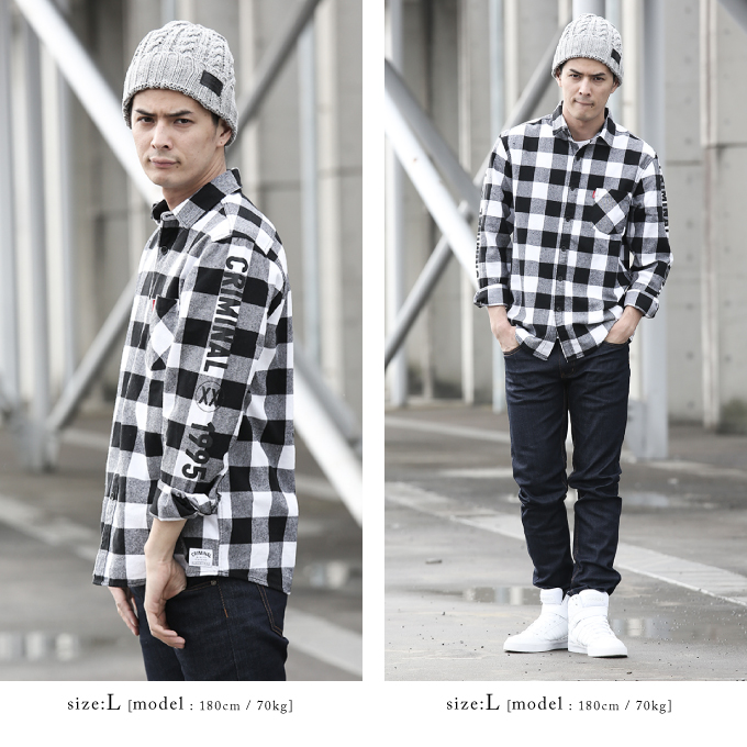 Men S Baz Az Plaid Shirt Jacket White Sierra