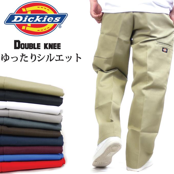 4c33cd132d4 DICKIES Dickies double knee work pants セルフォンポケット 85283 Dickies Chino pants  long Pant デッキーズ work ...