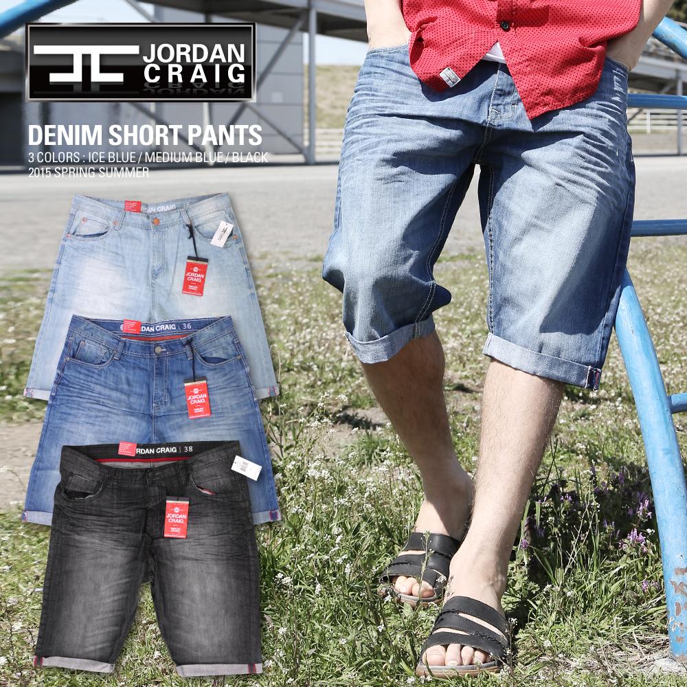 a721424080a JORDAN CRAIG denim shorts color processing Jordan Craig CARGO SHORT PANTS  with belt Cara pants US ...
