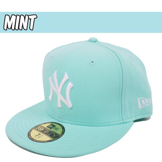 2f11af58e97 ... large pastel vivid colors 59fifty new era newera hats new era caps new  york yankees size