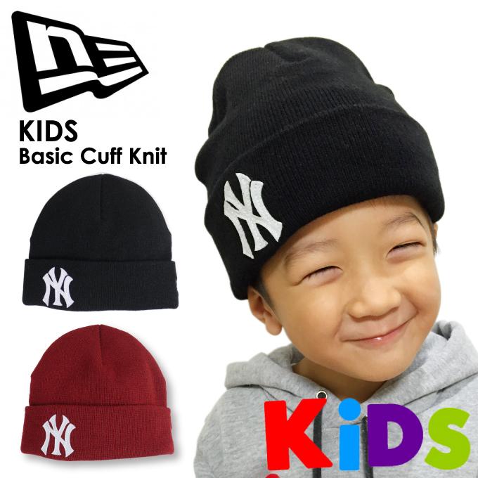 ... canada new era new era knit cap patch new york yankees knit cap youth  junior beanie f335cbcf7