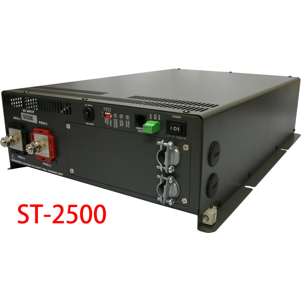 【 電菱 DENRYO 】 AC切換リレー内蔵型インバータ / STシリーズ ('AC100V) ST2500 【送料無料 沖縄・離島除く】 ST-2500