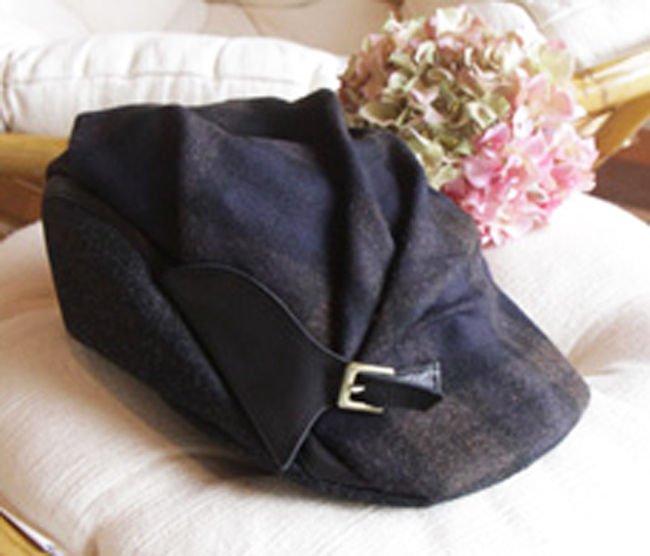 チェック&ベルトハンチング帽(帽子)[La Luz Del Golla]【送料無料】【smtb-k】【w4】