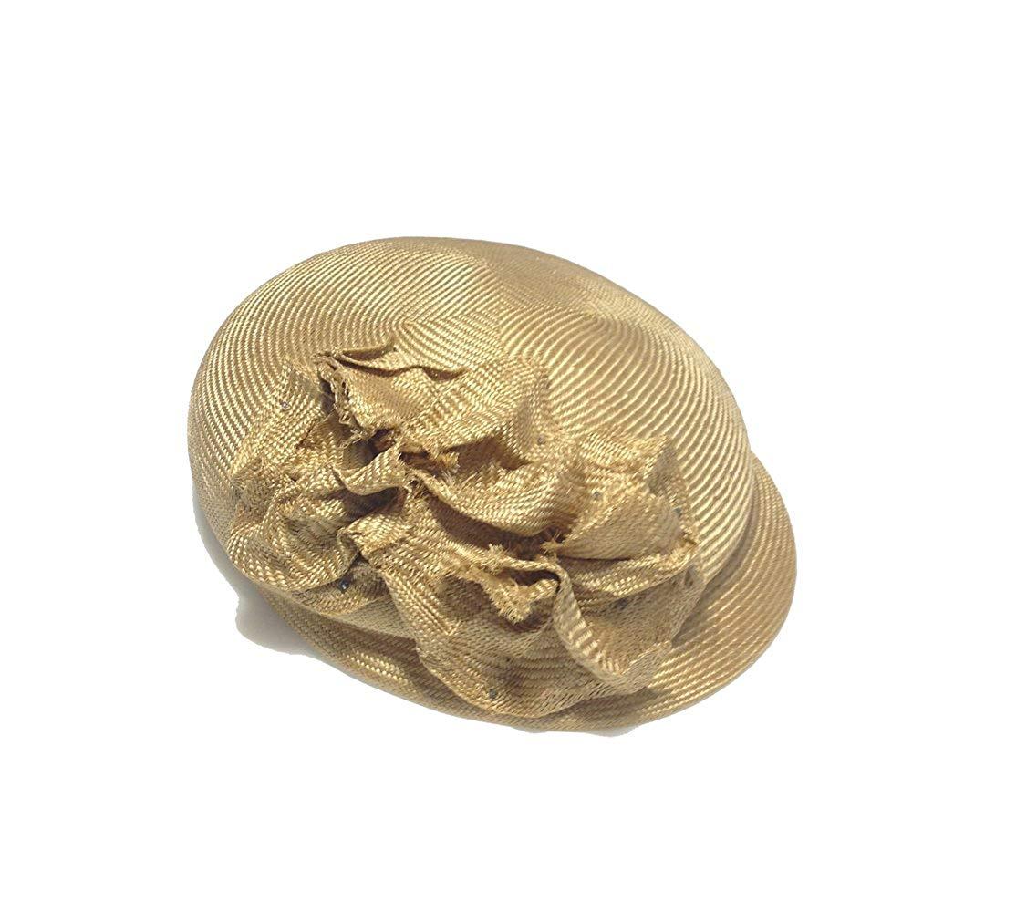 ぷくっとベレーな麦わらキャスケット(レディース帽子・ベレー帽・ハンチング・キャスケット)[La Luz Del Golla]【送料無料】