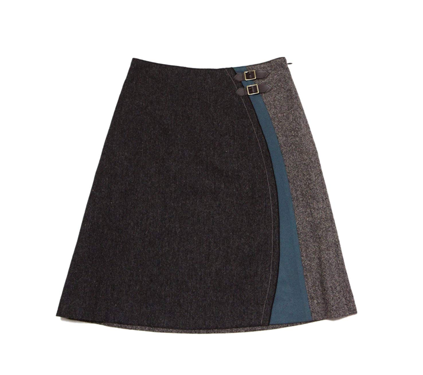 ☆選べるレディース服3点福袋対象商品☆人気デザイン♪オーバルデザインスカート(返品・交換・ギフト包装不可)