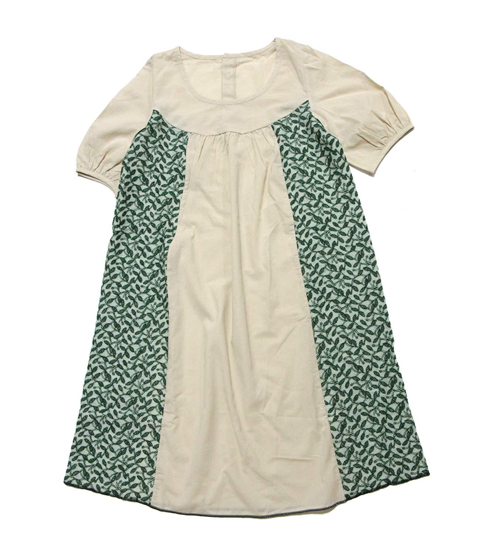 ☆選べるレディース服3点福袋対象商品☆リーフ刺繍ワンピース(返品・交換・ギフト包装不可)