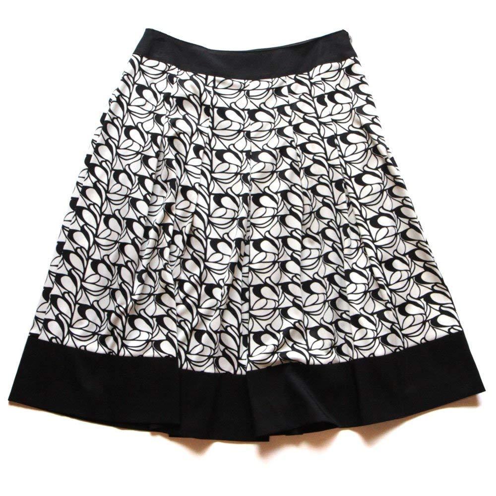 ☆選べるレディース服3点福袋対象商品☆ウェーブ模様のエアリー感♪プリント切り替えスカート(返品・交換・ギフト包装不可)