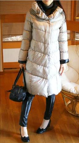 1着なのに2色のダウンジャケット♪リバーシブル・ロングダウン(ロングコート)[Re.Verofonna・ヴェロフォンナ]【送料無料】【smtb-k】【w4】k