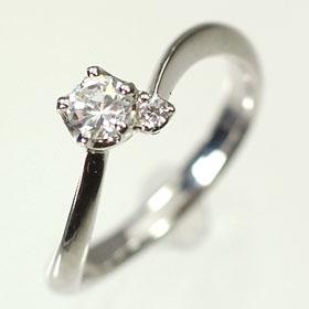 婚約指輪 プラチナ・ダイヤモンド0 2ct F・VS・3EX・H C・鑑定書付エンゲージリング 婚約指輪送料無料534RAScjLq