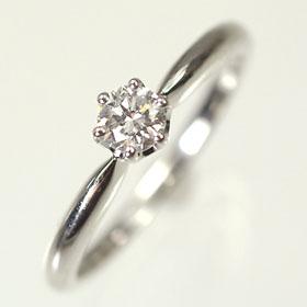 婚約指輪 プラチナ・ダイヤモンド0.2ct(F・VS・3EX・H&C・鑑定書付) エンゲージリング(婚約指輪) 【プロポーズリング】