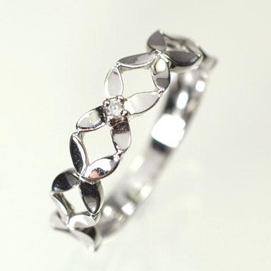 ダイヤモンド リング ホワイトゴールドリング K10WG・ダイヤモンド0 006ct ピンキーリング 指輪ダイヤモンド指輪UpMqSGzV