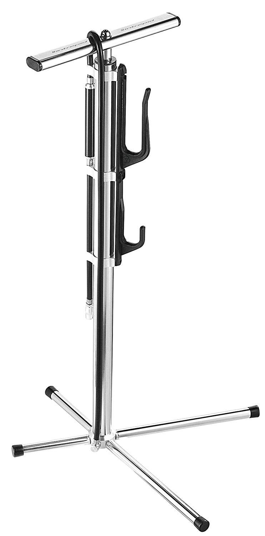 自転車 メンテナンス アウトレット スタンド ディスプレイ ディスプレイスタンド OTOMO オオトモ interpidbike アルミ製メンテナンススタンド付き 100%品質保証! インターピッドバイク フロアポンプ ねじ込み式ツインヘッドバルブ 仏式 IPS-100 米式対応