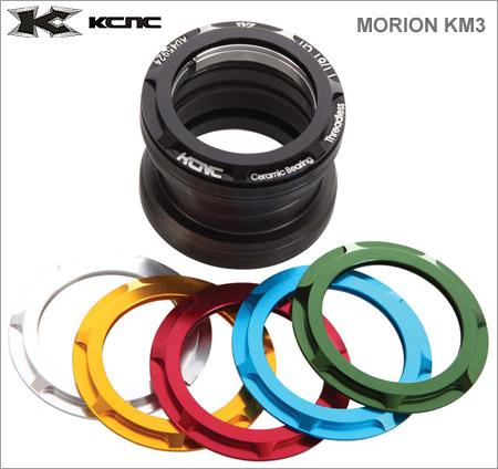 (送料無料)【KCNC】(ケーシーエヌシー)モリオン KM3 エクスターナル OS 5023【ヘッドセット】(自転車)