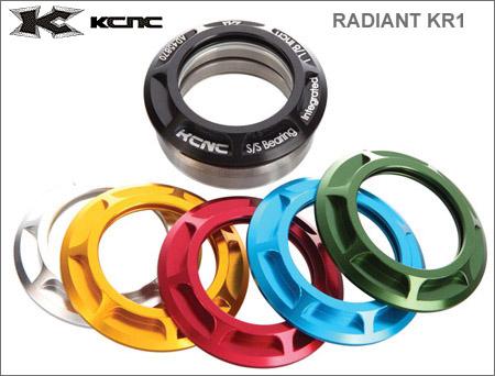 (送料無料)【KCNC】(ケーシーエヌシー)ラディアント KR-1 インテグラル OS 50232【ヘッドセット】(自転車) KR1, コレクターズショップ サザン ec7796b8