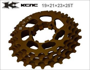 (送料無料)【KCNC】(ケーシーエヌシー)リプレイスギア 19×21×23×25T 408023【カセットスプロケット】(自転車), NO.NO.NO. e16b3448