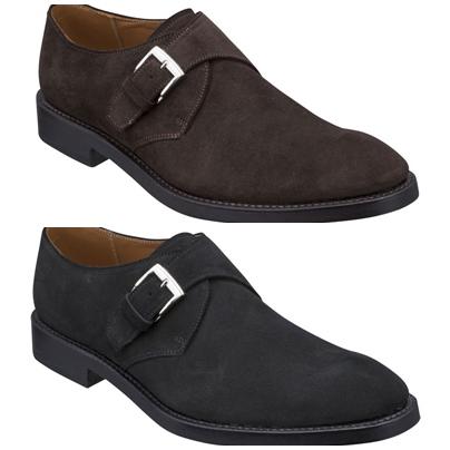 【07RRBG】【REGAL】【送料無料】アッパー全て本革 日本製☆グッドイヤーウエルト式製法 モンク ビジネスシューズ紳士靴