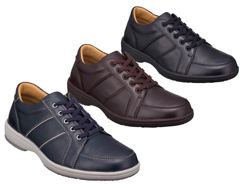 【250WBF】【Regal Walker】【送料無料】【日本製】アッパー全てディアスキン☆ タウンカジュアルレースアップ3Eビジネスシューズ紳士靴