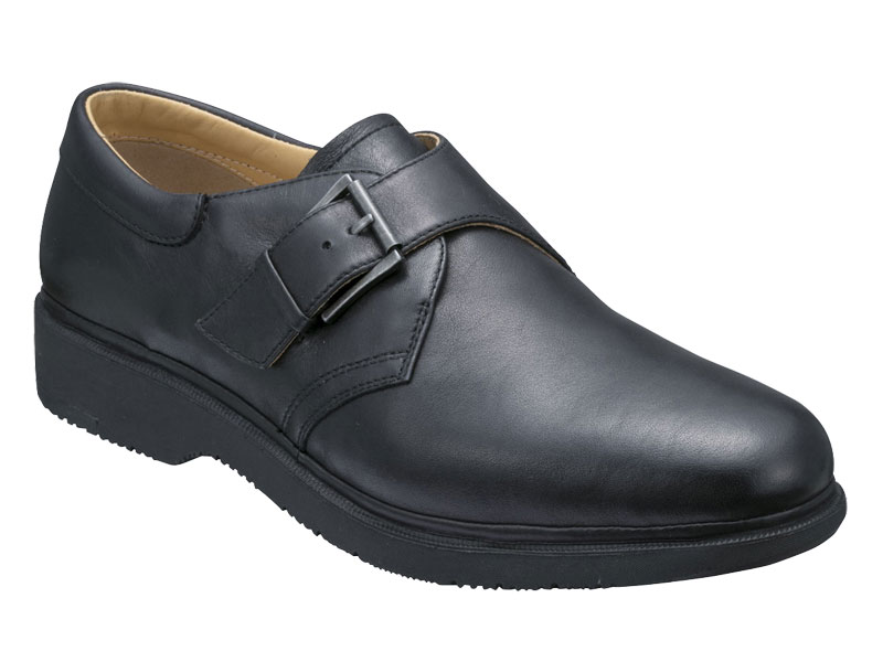【288WAH】【Regal Walker】【送料無料】【幅広】アッパー全て牛革☆ プラット式製法 3Eモンクビジネスシューズ紳士靴