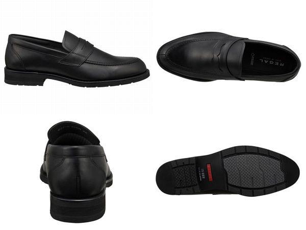 【30NRBB】【REGAL】【送料無料】【日本製】アッパー全て本革☆ゴアテックス(r)ファブリクス 幅広3E ローファービジネスシューズ紳士靴