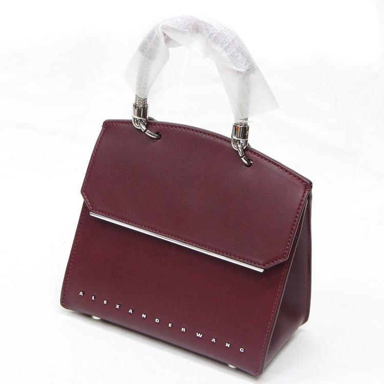 【未使用品】バッグ レディースバッグ 2WAYバッグ ハンドバッグ ショルダーバッグ アレキサンダーワン ボルドー ワインレッド ブランドバッグ