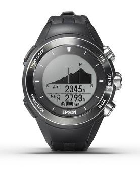 EPSON WristableGPS for Trek MZ-500B 【腕時計】