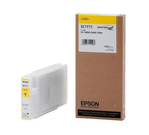 ●キャッシュレス5%還元対象● EPSON SC1Y11 [イエロー] 【インク】