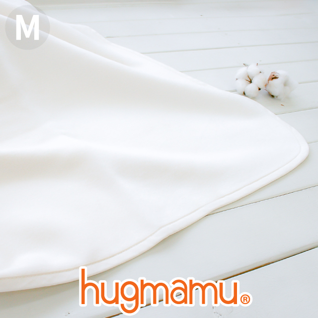 休日 期間限定今なら送料無料 綿毛布 ブランケット M 無添加 はぐまむ ベビーM 日本製 85×115 赤ちゃん 子供 三河木綿 保育園