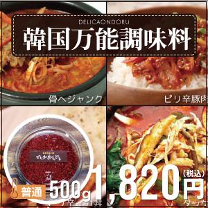 韓国万能調味料/スンドゥブチゲのタレ(500g)[ミニレシピ付き!]【でりかおんどる】