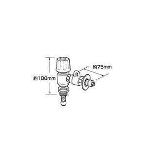 パナソニック メーカー共通 バルブ 分岐水栓 CB-ET7