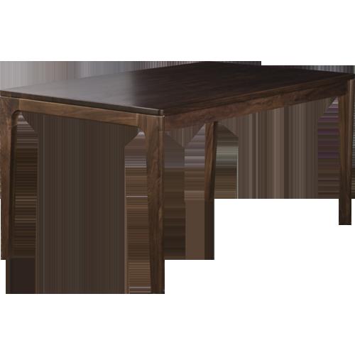 【6/1限定!ポイント15倍】A TEMPO DINING TABLE 150 (WALNUT)アテンポ ダイニング テーブル 150 ウォルナット[D VECTOR PROJECT 300001]
