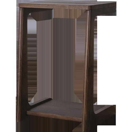 【(6/4-20時から)2,500円OFF!】A TEMPO SIDE TABLE (WALNUT)アテンポ サイドテーブル ウォルナット[D VECTOR PROJECT 300001]