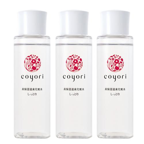 コヨリ coyori こより 高保湿温泉化粧水しっとり 100mL 3本組