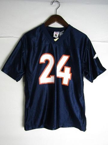 お求めやすく価格改定 訳あり商品 ネコポス可能 NFL デンバー ブロンコス チャンプ ベイリー ゲームシャツ youth L 中古 #24