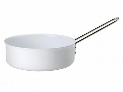 【eva-trio】 ホワイトライン 片手鍋 24cm