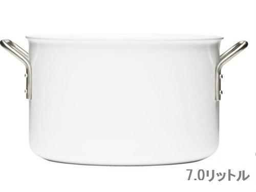 【eva-trio】 ホワイトライン 両手鍋 24cm
