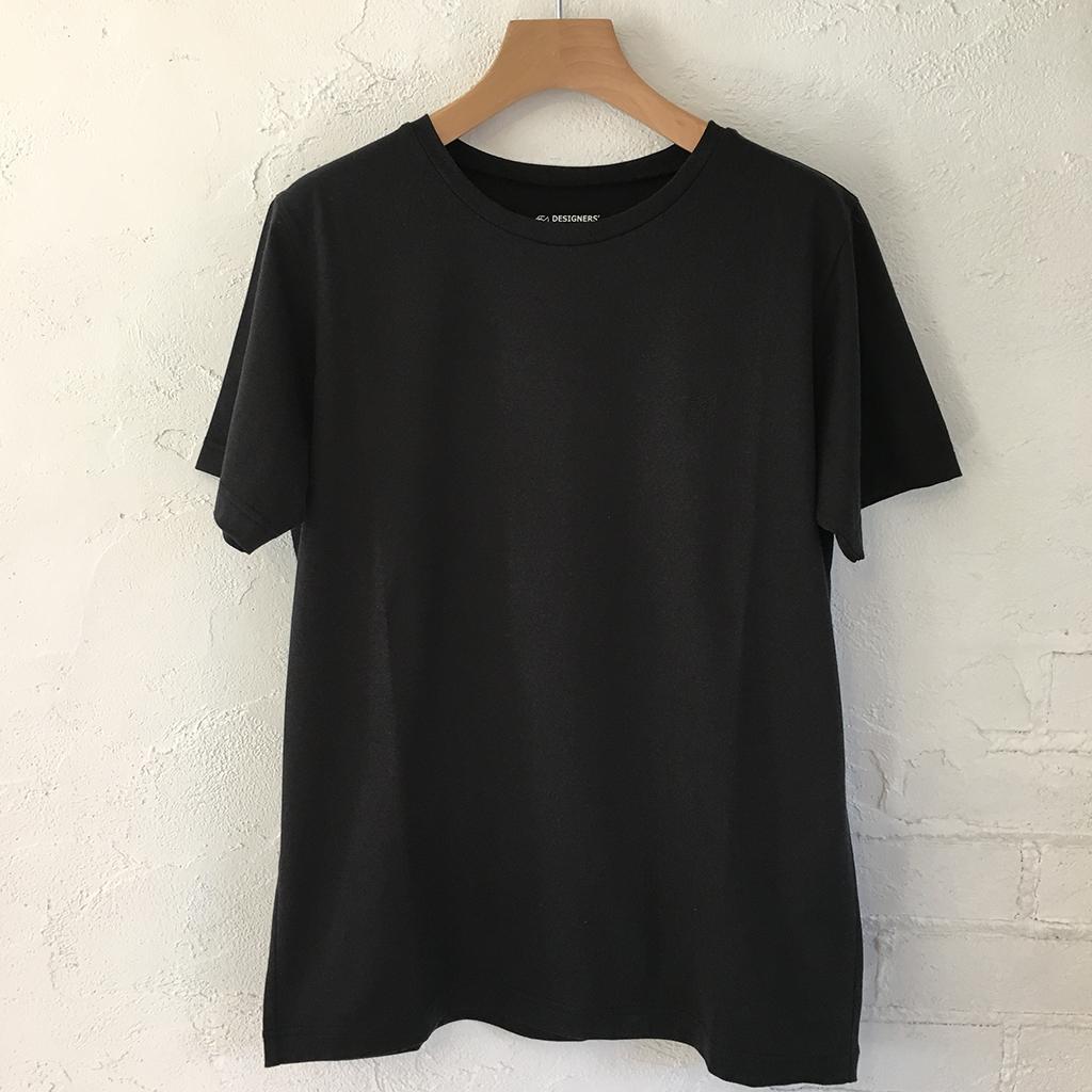 DESIGNERS'FRIDGE オリジナルTシャツ BLACK 貴重な超長綿使用 着心地抜群 【送料無料】メンズ レディース