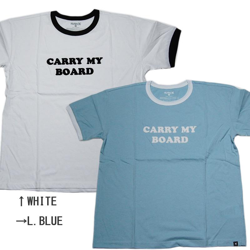 SALE HURLEY 期間限定送料無料 ハーレー LADIES レディース CARRY 高額売筋 BOARD Tシャツ MY RINGER TEE