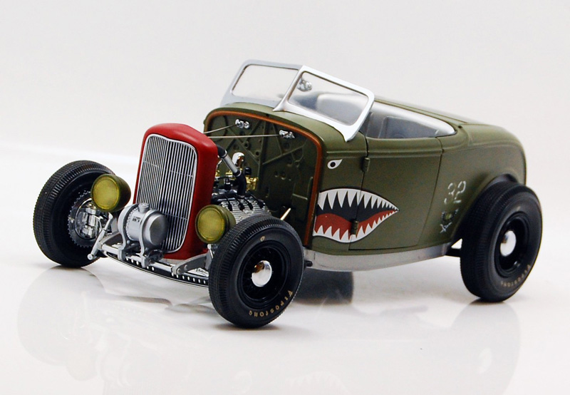 GMP 1:18スケールモデル 1932 Ford Duece Aero Rod フォード デュース エアロ ロッド