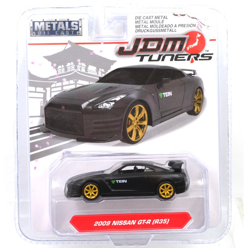 Jada JDM Tuners 2009 Nissan Skyline GT-R R35 1:64 Diecast Car 14036 White