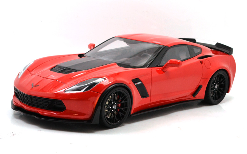 GT-SPIRIT 2017 CORVETTE Z06 (USA EXCLUSIVE)GTスピリット社 2017コルベット Z06 (アメリカ限定)レジン製モデル限定510台