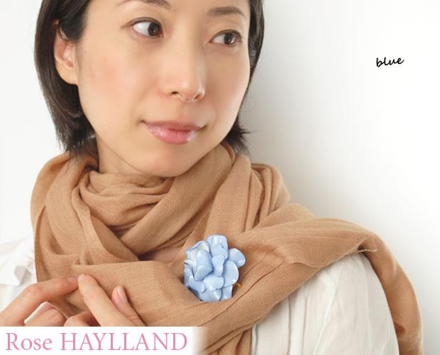 【ROSE HAYLLAND】ローズハイランド<ゼラニウム・グラン>ナチュラルブローチ ブローチ ピンブローチ ゼラニウムモチーフ 大ぶり レディース かわいい おしゃれ ギフト