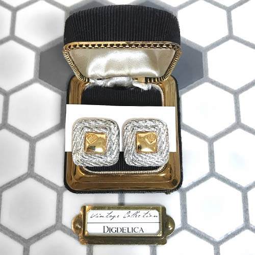 【GIVENCHY】ジバンシイ ヴィンテージイヤリング Vintage EARRING GOLD v1391【DIGDELICA】UESD中古品年代物 ジバンシー ディデリカ